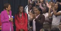 Watch: Robin Roberts and Lupita Nyong'o Surprise All-Girls STEM School In Atlanta (Video)