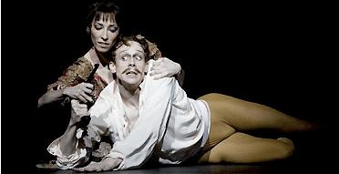 Edward Watson and Mara Galeazzi in Mayerling. Source: via the Guardian