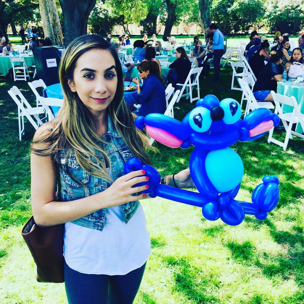 Lilo & Stitch balloon by TheBalloonGuyLA.com