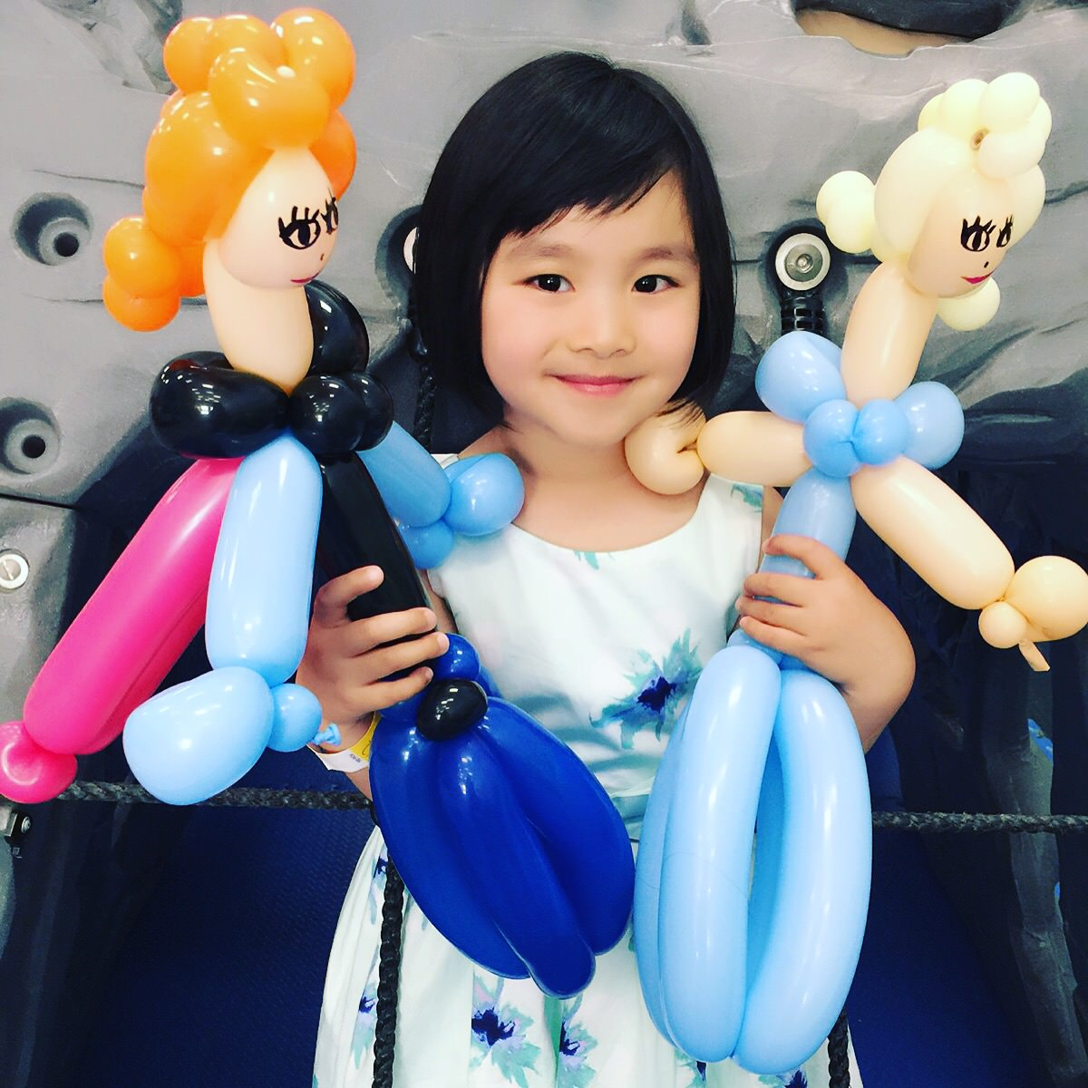 Elsa and Anna Balloons by The BalloonGuyLA.com