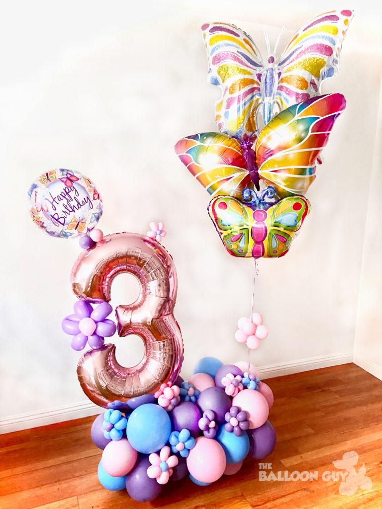Butterfly Balloon Bouquet