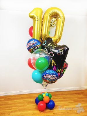 Video Game Balloon Bouquet