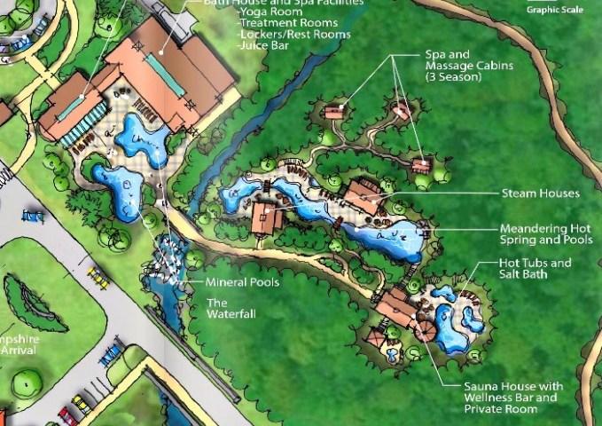 The Balsams Nordic Baths and Spa plan