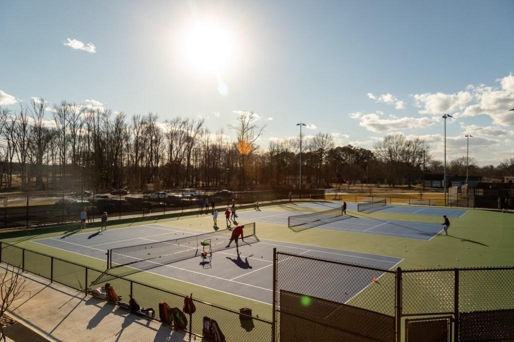 Sand Mountain Park Tennis Courts