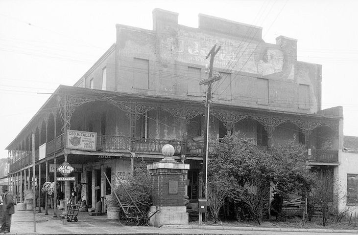 Old Photo Of The St. James Hotel