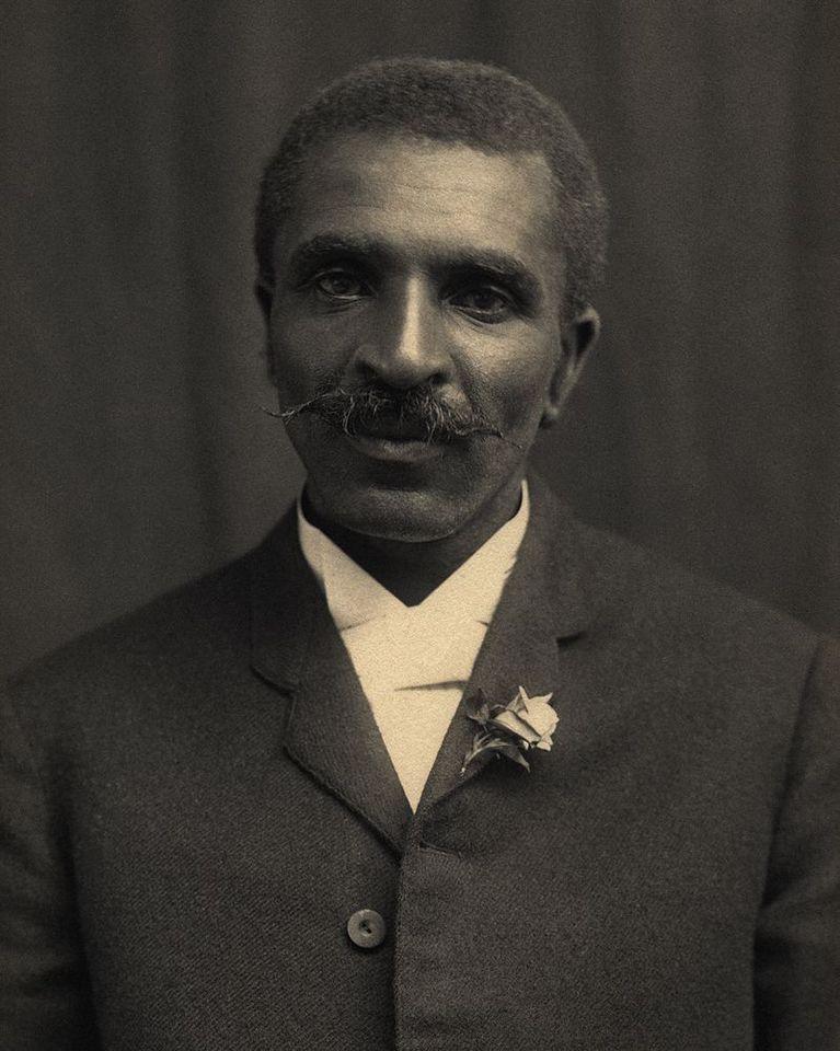Portrait Of George Washington Carver