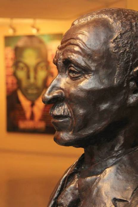 George Washington Carver Bust At The Carver Museum