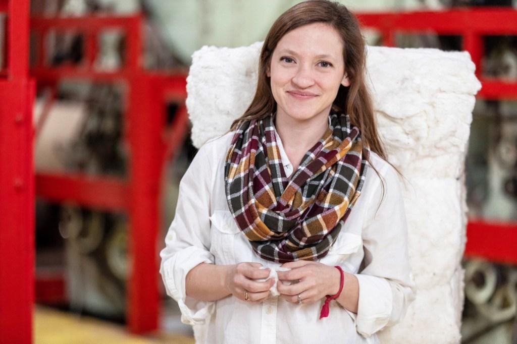 Red Land Cotton Co-Owner Anna Brakefield