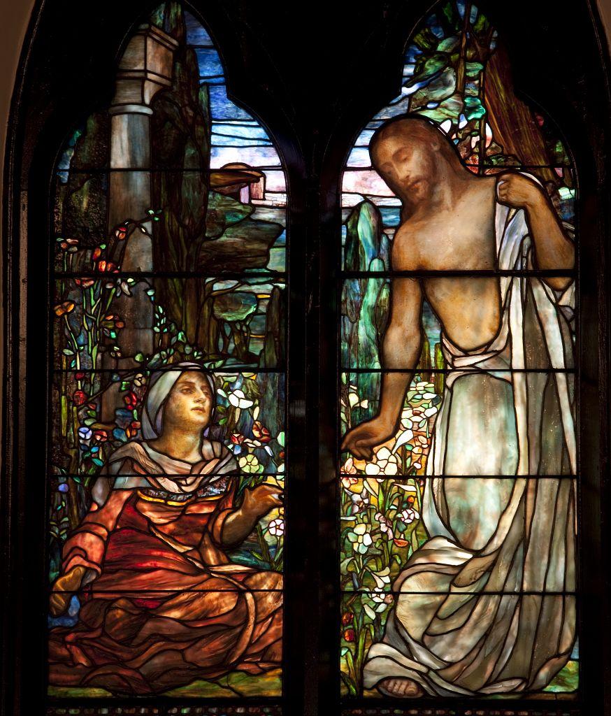 Clara Weaver Parrish Church Glass Stained Windows