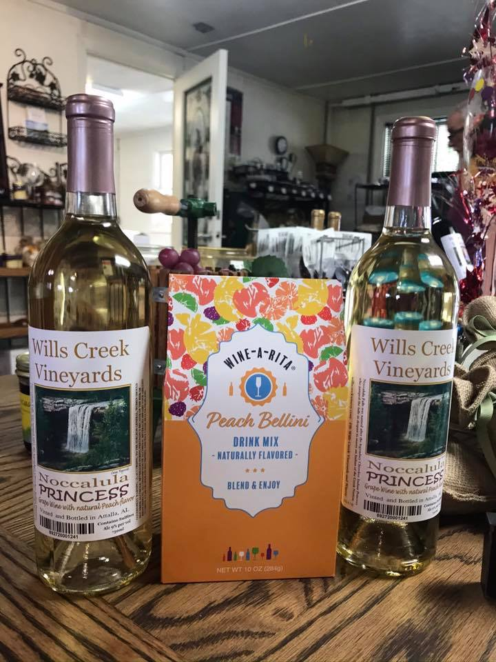 Wills Creek Vineyards Noccalula Wine-A-Rita