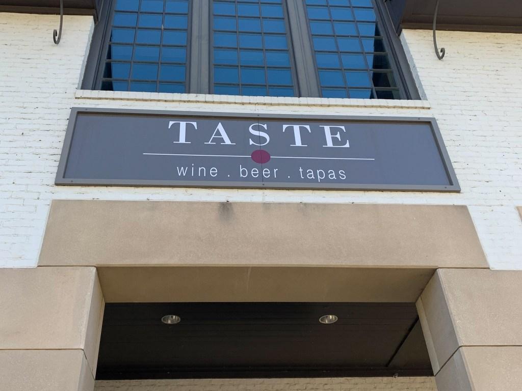 Entrance To Taste.