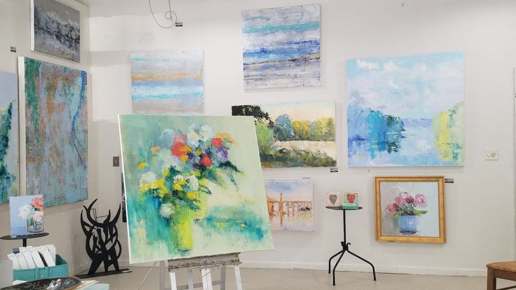 Local Artist Lorrie Lane'S Studio Is Participating In First Friday On May 7Th. Photo Via Lorrie Lane Studio'S Facebook.