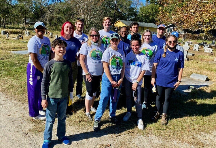 Mobile Baykeeper Cleanup In Oaklawn