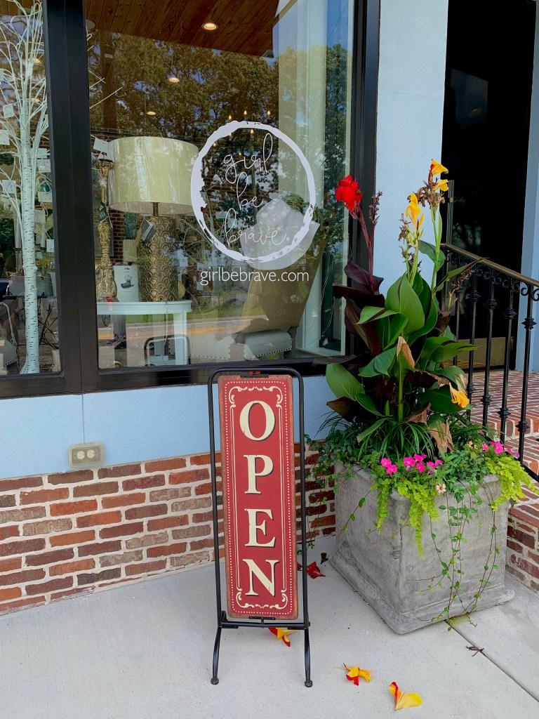 Black Door Studio Front Door.