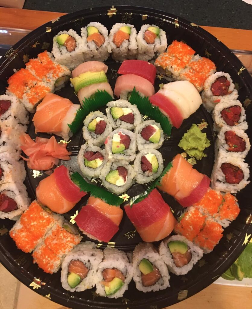 A Sushi Platter From Ichiban Is Never A Bad Idea! Photo Via Ichiban Japanese Grill'S Facebook.