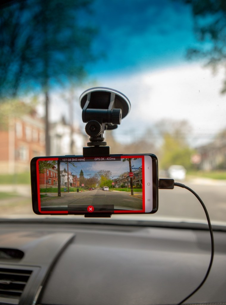 The Roadbotics Program Uses A Unique App To Analyze Roads In Real Time. Photo Courtesy Of City Of Montgomery.