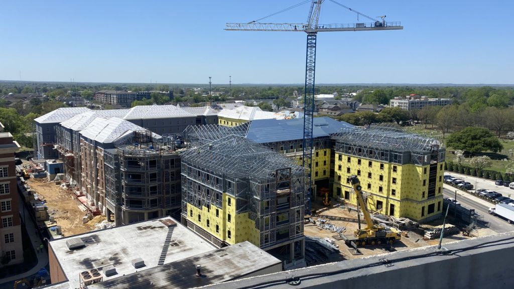 Tutwiler Hall From Above As Of 3/30/21. Photo Courtesy Of University Of Alabama