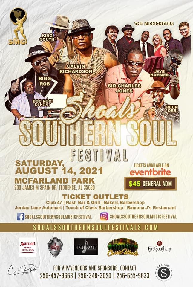 Southern Soul Music Festival Poster