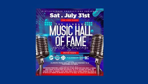 Music Hall Of Fame Poster