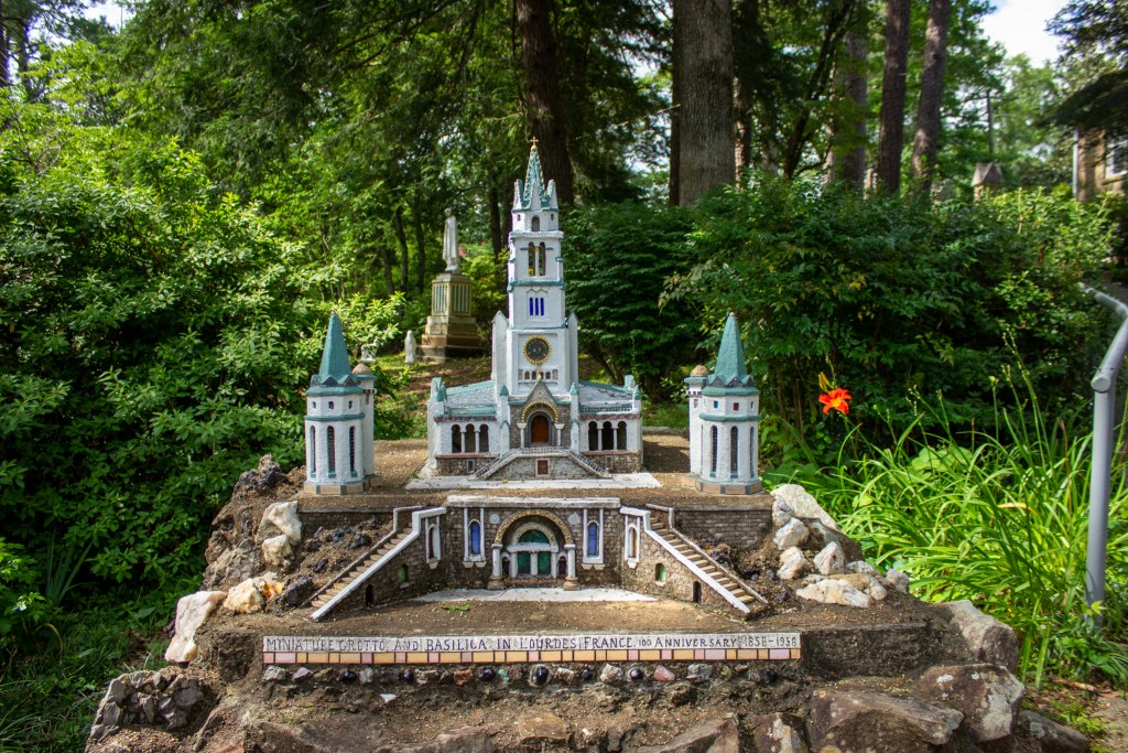 A Miniature Of The Lourdes Cathedral In France, The Last Structure Made By Brother Joseph. Photo By Libby Foster For The Bama Buzz.