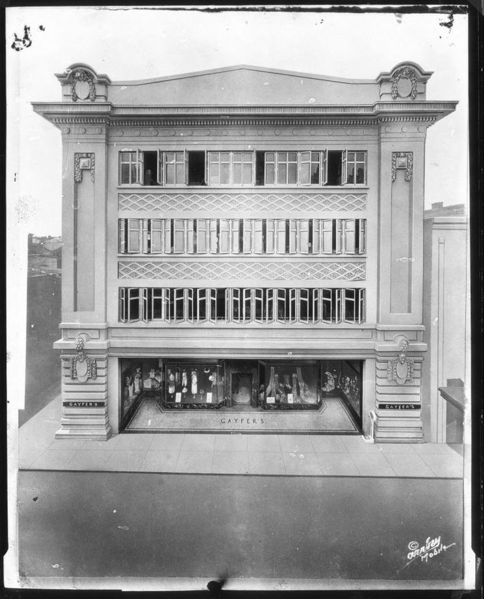 Old Picture Of The Gayfers Building