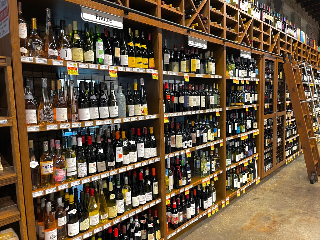 Wine Selection In Greer'S St Louis Market.