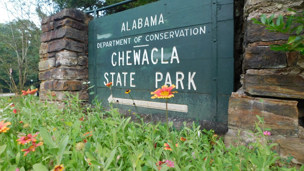 Chewacla State Park Welcome Sign