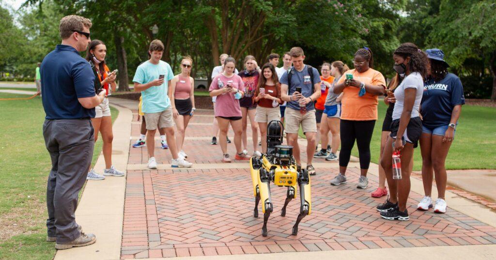 Auburn University, Robot,