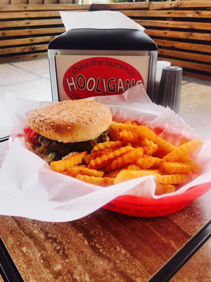 Hooligans Has One Of The Best Burgers In Town At A Great Price. Photo Via Hooligans On Facebook