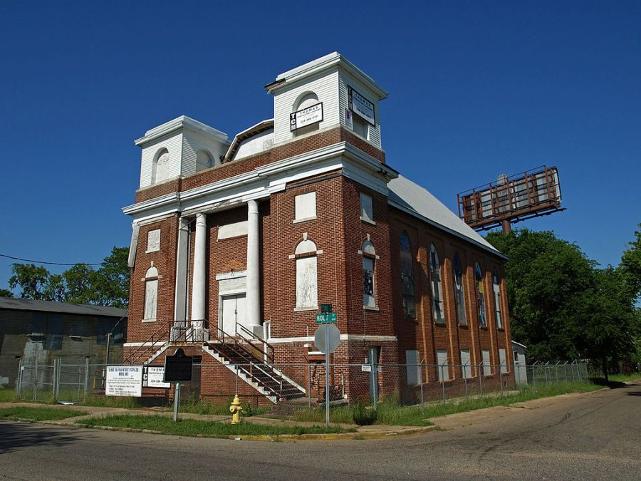 The Mt. Zion Church That Is Under Renovation To Become A Museum