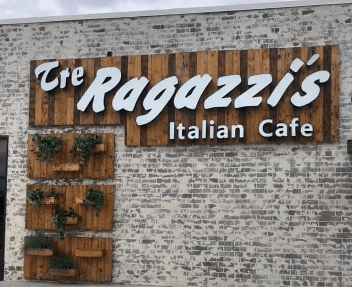 Tre Ragazzi'S New Location