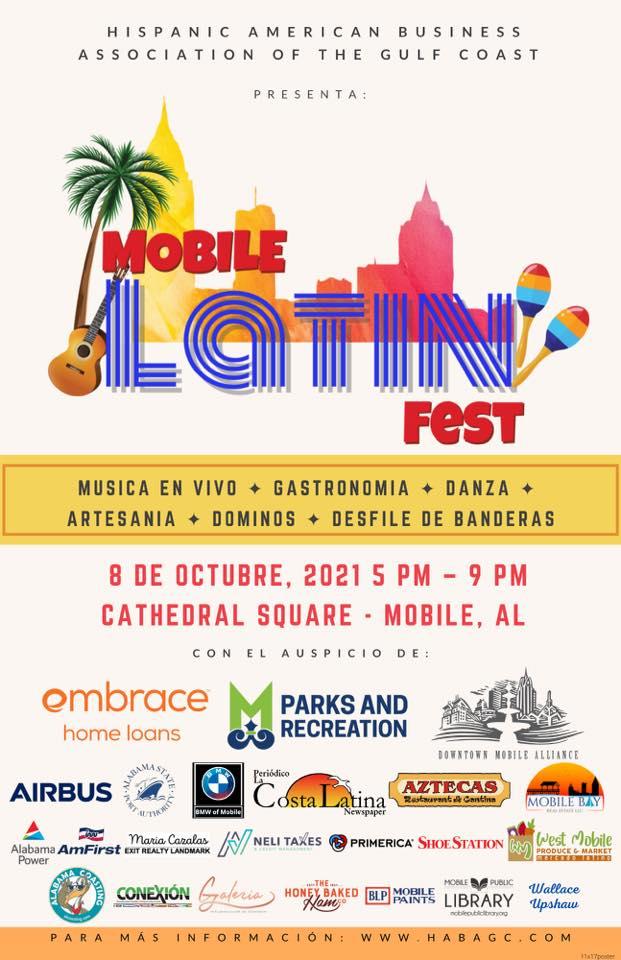 Latin Fest Flyer