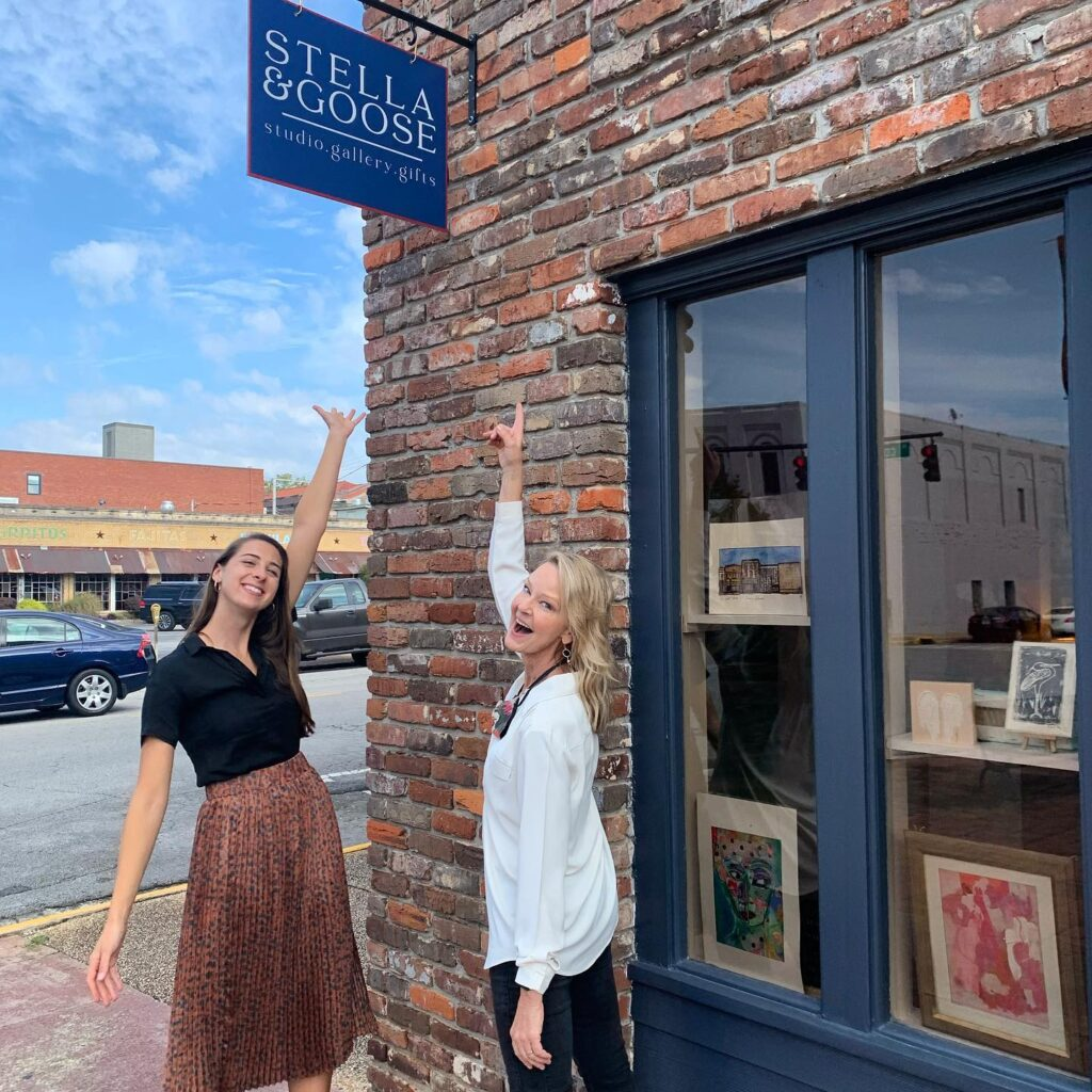 Downtown Florence welcomes a crafty new Art Shop, Stella and Goose + 3 reasons to visit