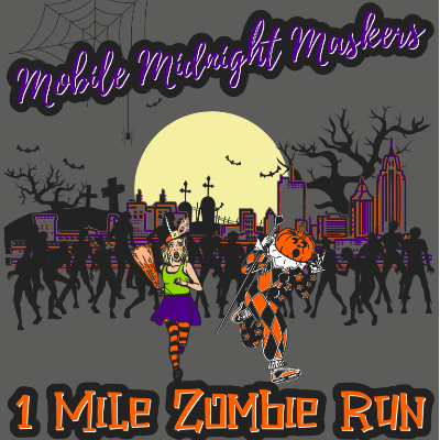 Midnight Mysteries Zombie Run Poster