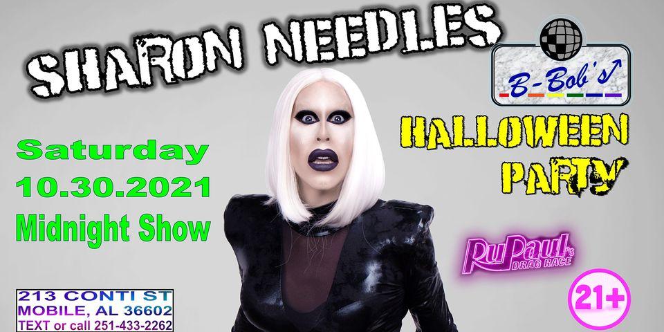 Sharon Needles Midnight Party Poster