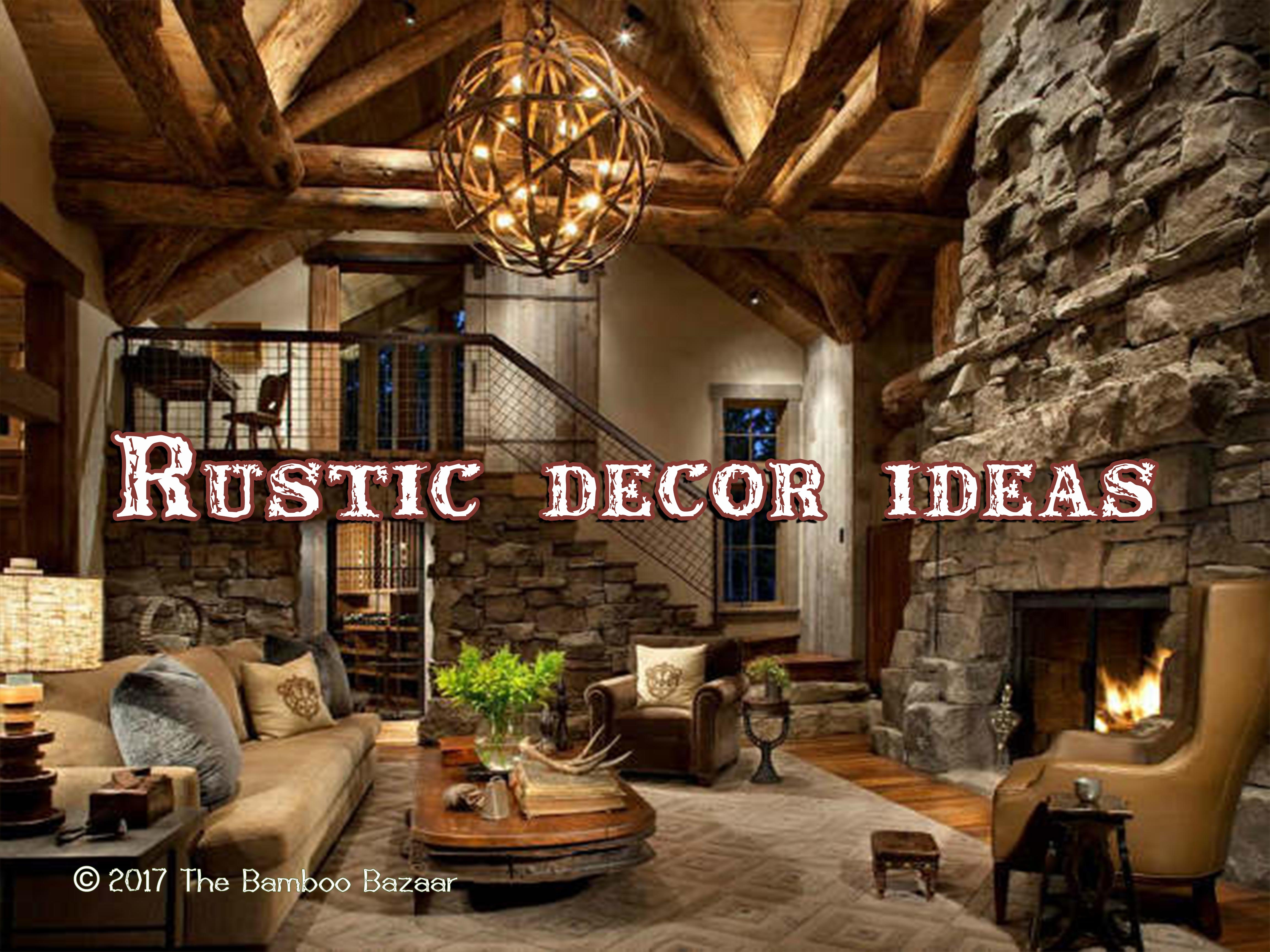Rustic Décor Ideas, A Guide to Transform your Home on Rustic Traditional Decor  id=79984