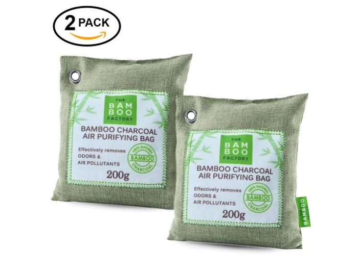 2-Pack Natural Activated Bam