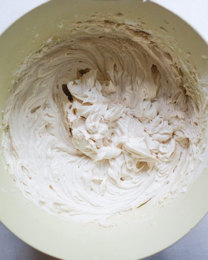 whipped vegan butter cream frosting