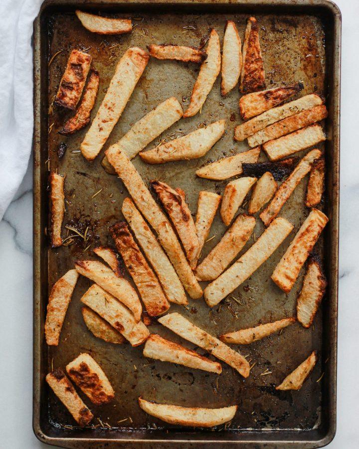 jicama fries baked