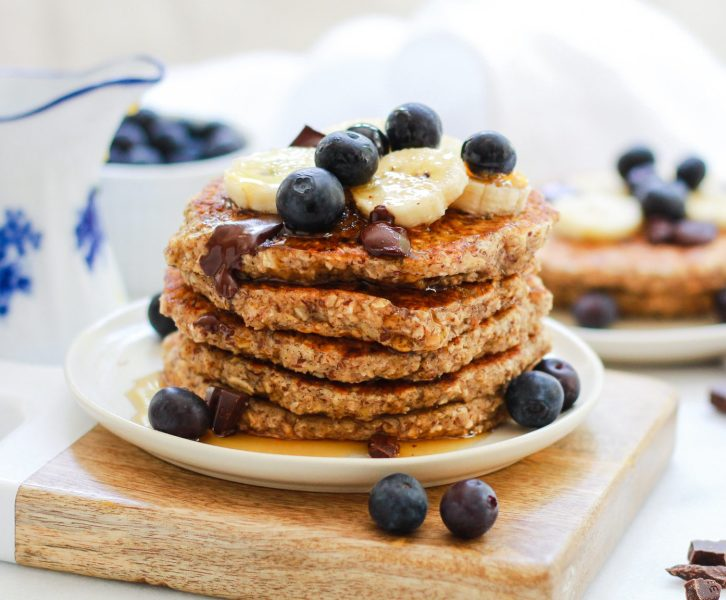 header for gluten free oatmeal pancakes