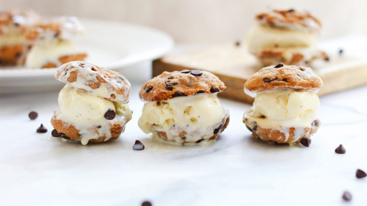header of ice cream cookie dough sandwiches