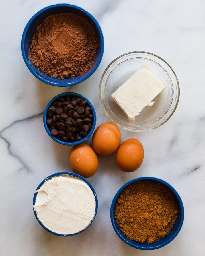 paleo brownies ingredients