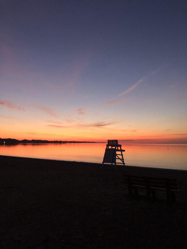 sky before dawn