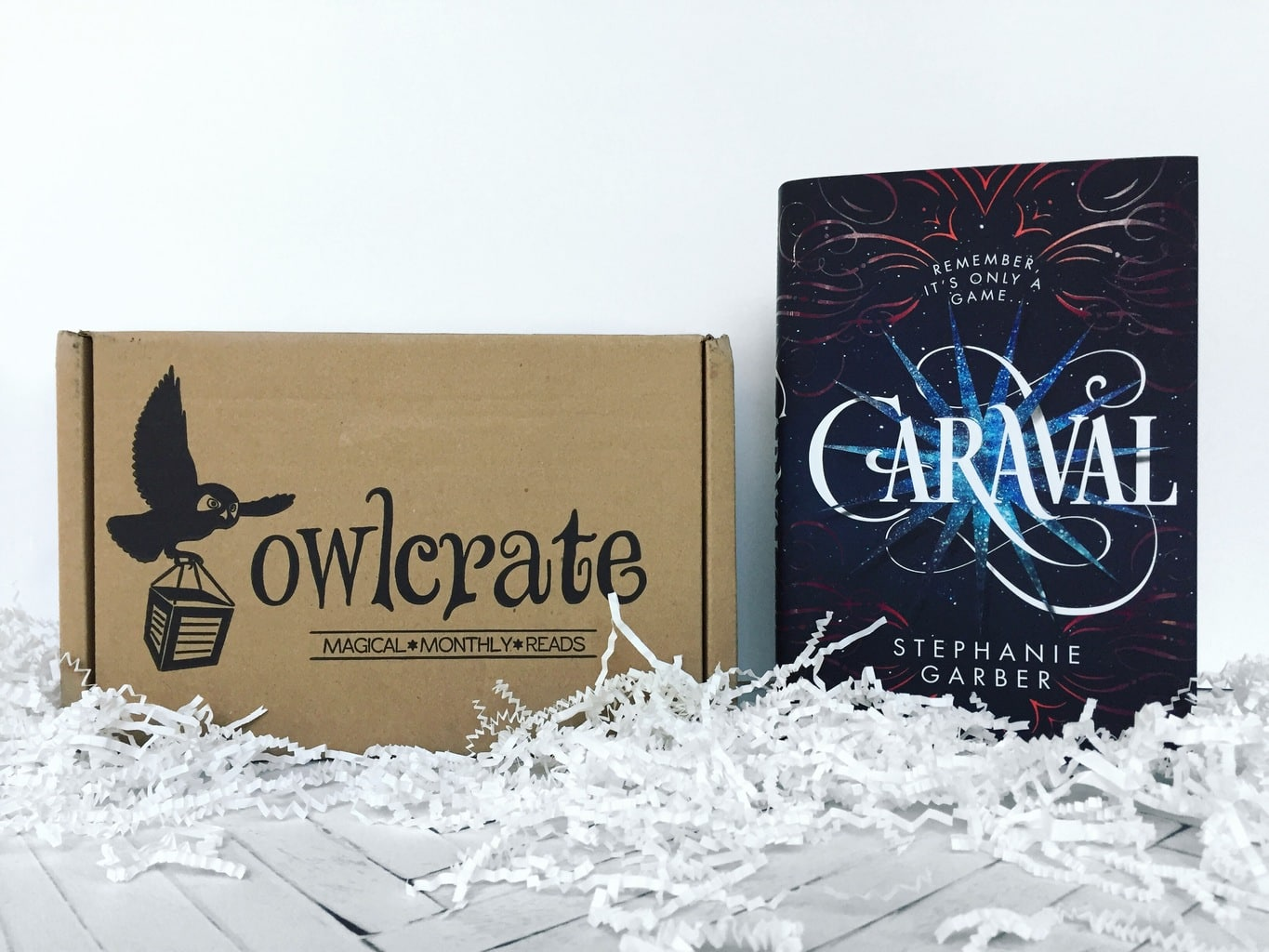 owlcrate unboxing caraval