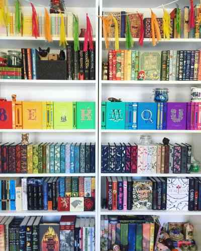 the bandar blog shelfie