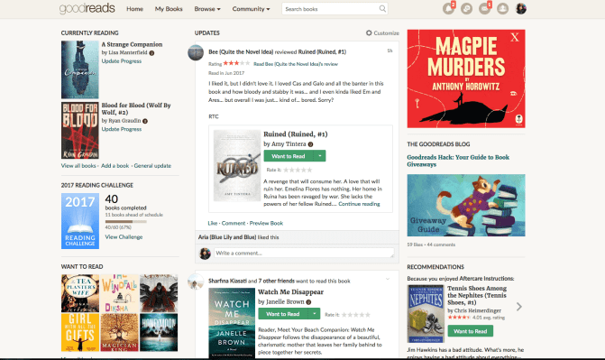 5 Ways I Use Goodreads (And Why You Should Use It, Too