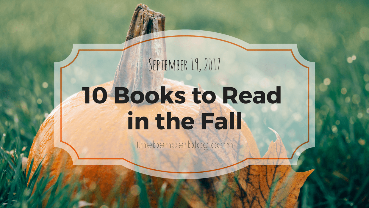 10 books to read in the fall