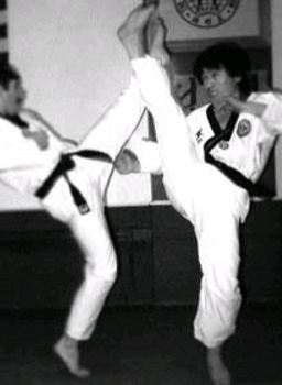 How To Do The Spinning Crescent Kick