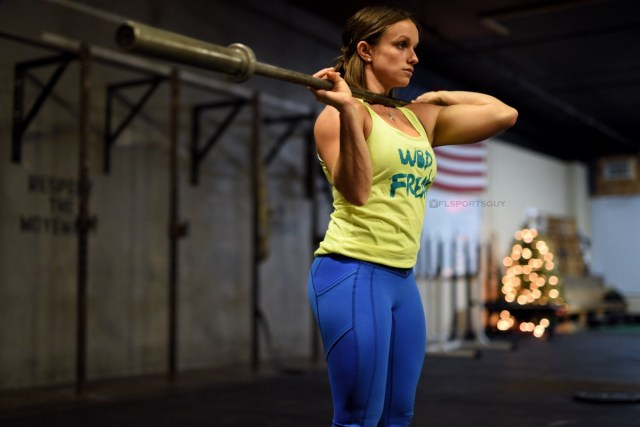 Hannah Richards, member of NPGL's Miami Surge and Regional CrossFit Athlete