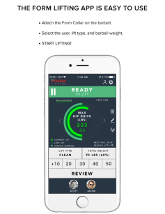 FORM Lifting App